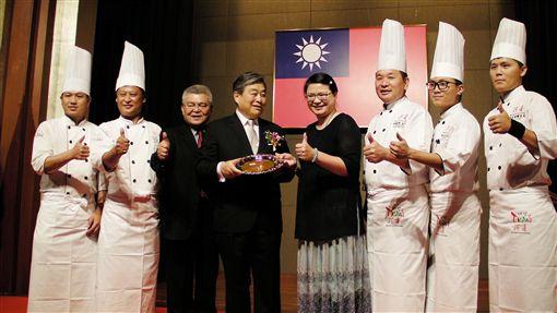 台灣,韓國,美食,國慶,雙十酒會圖/中央社