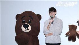 李玉璽舉辦新歌MV首映會,分身玩具熊