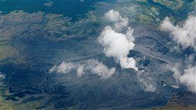 日本阿蘇火山噴發/路透社