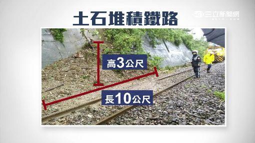 """台鐵太麻里""""撞土石流"""" 綠色隧道再淹成泥河"""
