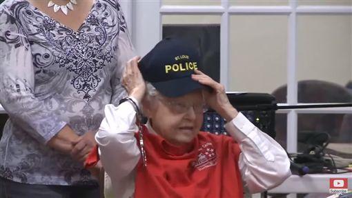 老奶奶夢想被逮捕/ABC NewsYouTube