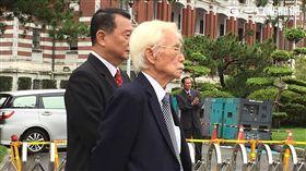 前總統府資政辜寬敏 記者吳宜蓁攝