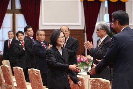 總統蔡英文與日本國會議員訪團午宴 總統府提供