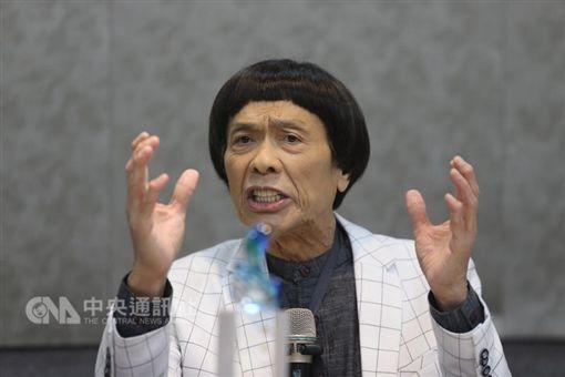 豬哥亮 出院感恩茶會 圖/中央社