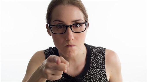 生氣,憤怒,指責,責罵,女人(圖/Pixabay)
