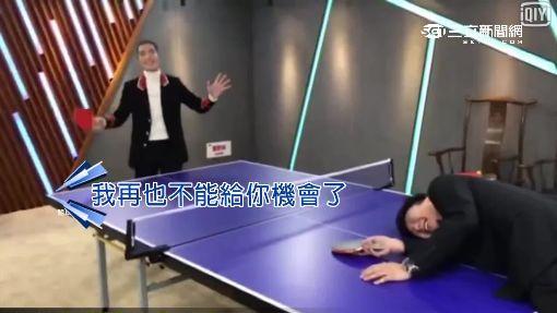 """老蕭熱情勾JJ肩膀 """"乒乓外交""""破不合"""
