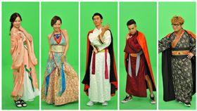 《綜藝3國智》,主持群李李仁、納豆、王少偉、花花和Lulu 圖/台視提供