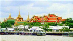 泰國曼谷大皇宮。(圖/翻攝自維基百科)