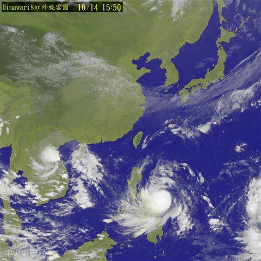 1014颱風動態/中央氣象局