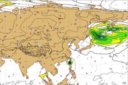 1014颱風動態/歐洲中期預報中心(ECMWF)