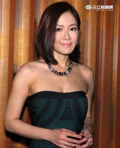 尹馨拿下今年金鐘獎迷你劇最佳女主角,14日在人慶功宴否認性冷感。(記者邱榮吉/視影)