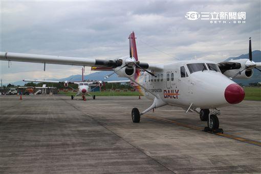 德安航空DHC6-400新型客機。(圖/民航局提供)