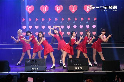 韓國女子團體OH MY GIRL首次來台舉辦見面會與台灣粉絲面對面