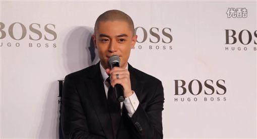 霍建華(圖/翻攝自優酷) http://www.weibo.com/2329770312/EcYKPoaVN?type=comment
