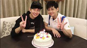 林志穎歡慶42歲生日。(圖/翻攝自林志穎臉書)