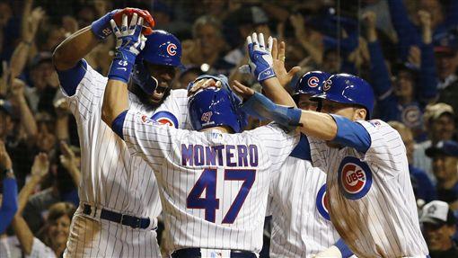Miguel Montero滿貫砲幫助小熊擊敗道奇(AP)