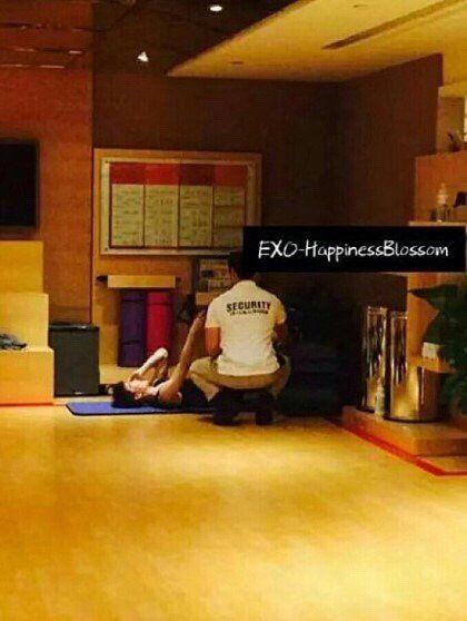 EXO,私生飯,粉絲,韓流,偶像,可怕,恐怖,誇張,大陸,中國,重慶,演唱會,燦烈,SUHO,金俊勉,鹿晗-翻攝自instiz
