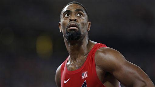 美國奧運短跑名將蓋伊(Tyson Gay)(圖/美聯社/達志影像)