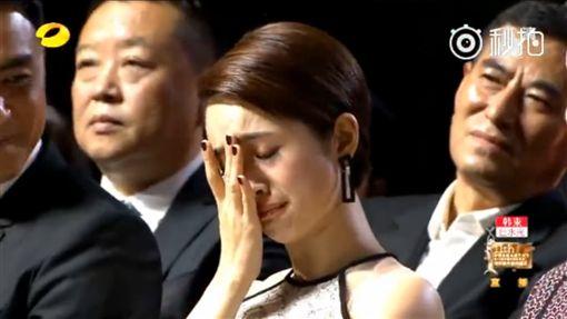 林依晨,金鷹節(圖/翻攝秒拍) http://www.weibo.com/p/230444a06c60f6817364d47185a964e6a1fb42