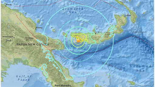 地震,青海,巴布亞紐幾內亞,強震,海嘯/獨立報《independent news》