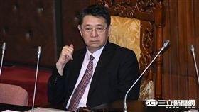 立法院秘書長林志嘉 圖/記者林敬旻攝
