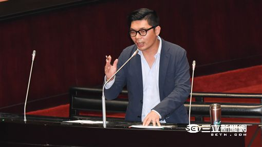 國民黨立委許毓仁 圖/記者林敬旻攝