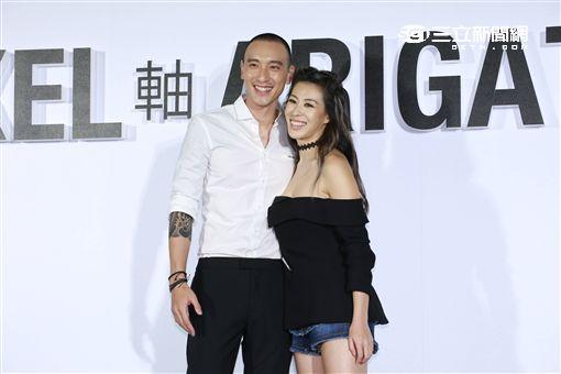20161019- 王陽明蔡詩芸夫妻出席鞋品AXEL ARIGATO開幕