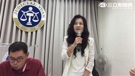 司法院刑事廳長蔡彩貞。潘千詩攝影