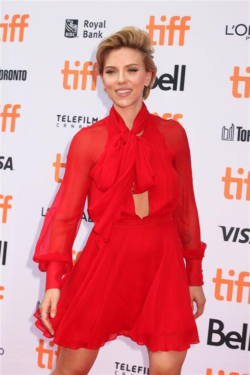 嘉蕾喬韓森(Scarlett Johansson) 達瑞克(Romain Dauriac) 圖/達志