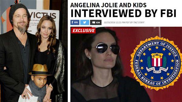 安潔莉娜裘莉,布萊德彼特,離婚,家暴,FBI,tmz,http://www.tmz.com/2016/10/19/angelina-jolie-brad-pitt-divorce-child-abuse-allegations-fbi-interview/