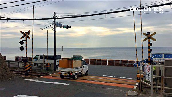 日本旅遊,鎌倉,灌籃高手,鐵道。(圖/讀者提供)