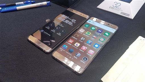 三星Note7換機 今天正式啟動三星今天啟動Note7換機作業,陸續通知消費者換新機。中央社記者江明晏攝 105年9月23日