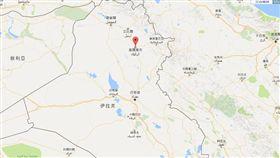 伊拉克北部基爾庫克(Kirkuk)(圖/翻攝自google map)