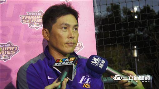 台灣大賽義大犀牛總教練葉君璋(圖/記者陳怡汝攝)