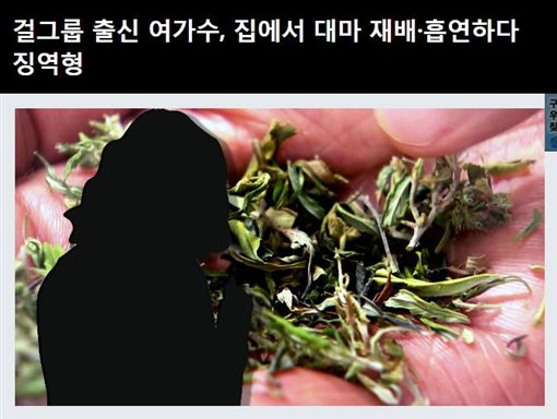 韓國女團爆涉毒(圖/翻攝自《YTN》)
