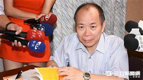 行政院政務委員,福建省主席張景森 圖/記者林敬旻攝