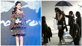 Angelababy,圖/微博、新浪娛樂