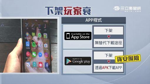 """App下架""""無仲裁"""" 使用者權益被漠視"""