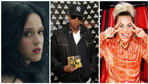 美國總統大選,希拉蕊,音樂,催票 圖/翻攝自Jay Z、麥莉希拉、凱蒂佩芮粉絲專頁
