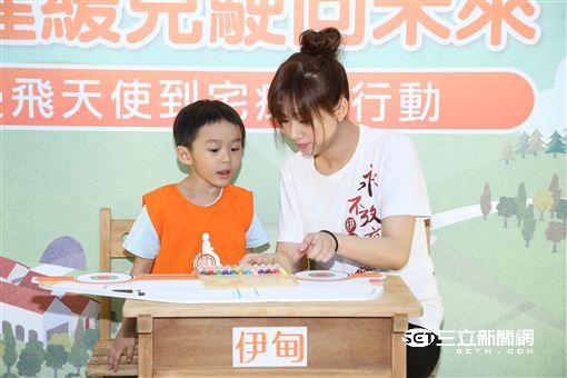 方志友出席慢飛天使公益活動為遲緩兒療育行動發聲