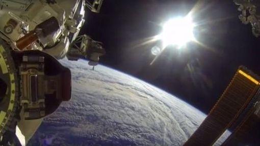 太空站,宇宙,地球,NASA 圖/翻攝自臉書INTERESTINATE