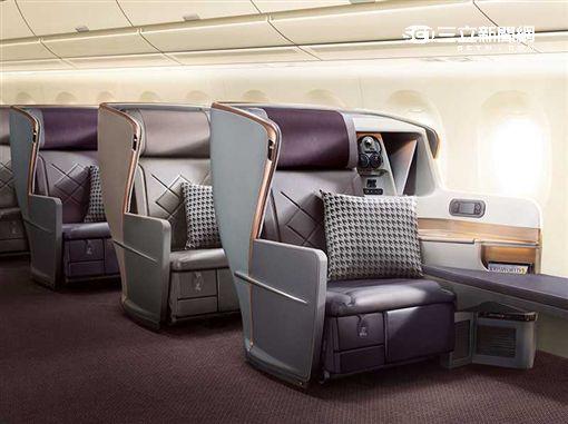 新航,新加坡航空,空中巴士A350。(圖/新航提供)