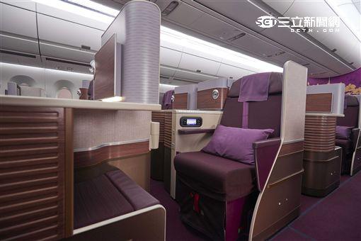 泰航,泰國航空,空中巴士,A350。(圖/泰航提供)