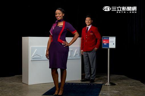 達美航空Delta新制服。(圖/達美提供)