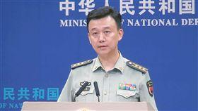中國大陸國防部發言人吳謙(圖/中央社