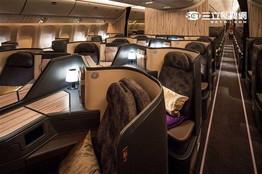 華航波音777-300ER客機。(圖/華航提供)