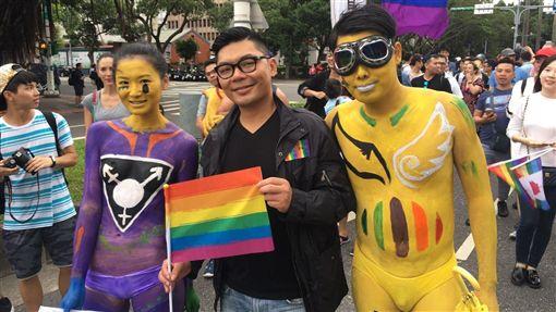 同志,遊行,婚姻平權,同志大遊行,許毓仁/許毓仁提供
