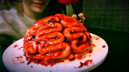 血淋淋大腦超嚇人 太妍烘培手藝再升級。資料來源:太妍IG