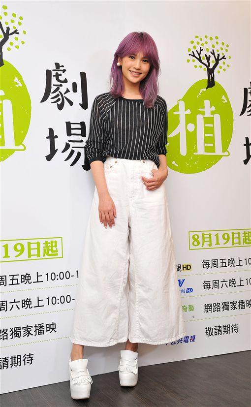 20161029楊丞琳拍吻戲心跳聲太大 收音全露餡  圖/台視提供