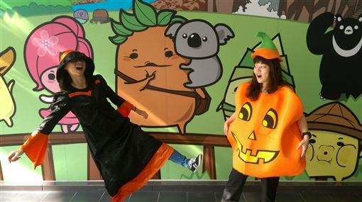 Happy Halloween!快到貓纜「假鬼假怪」